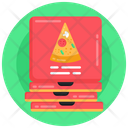 Pizza Boxes Pizza Parcels Pizza Cardboards Icon