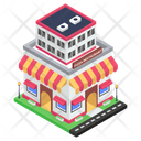Pizza Restaurant Eating House Eatery Icon
