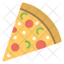 Snack Pizza Slice Icon