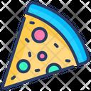 Italy Pizza Slice Icon