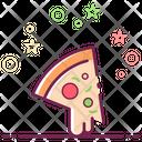 Pizza Slice Mayo Pizza Fast Food Icon