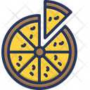 Pizza Eat Food Icon