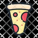Pizza Italian Food Icon