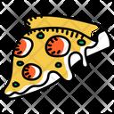 Fast Food Pizza Slice Pizza Icon
