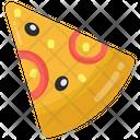 Pizza Pizza Slice Fast Food Icon