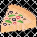 Pizza Slice Italian Food Junk Food Icon