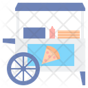 Pizza Stall Food Stall Food Store Icon