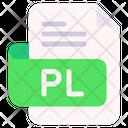 Pl Document File Icon