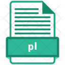 Pl File Format Icon