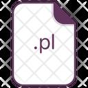 Pl File Document Icon