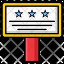 Placard Icon