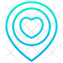 Love Location Love Place Love Point Icon