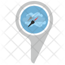 Place Direction Location Icon