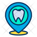 Dental Dentist Location Health Icon