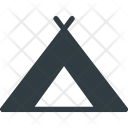 Place Camping Tent Icon