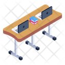 Workstation Workplace Place Of Work Icon