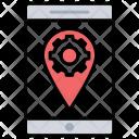 Service Location Optimization Icon
