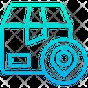Box Parcel Place Icon