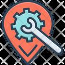 Places Optimization Icon