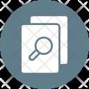 Plagiarism Checker Files Icon