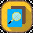 Plagiarism Checker Flat Icon