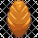 Plain Bread Icon