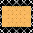 Plain Cracker Biscuit Icon