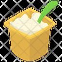 Plain Yogurt Bowl Icon