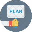 Plan Business Board Icon