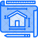 Layout Plan Building Icon
