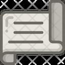 Plan Blueprint Design Icon