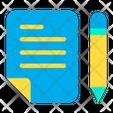 Plannnig Document File Icon