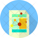 Plan Flowchart Template Icon