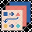 Plan Transform Flow Icon