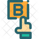 Plan B Choice Hand Icon