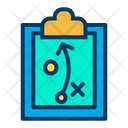 Clipboard Planing Plan Icon