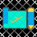 Flight Plan Icon