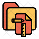 Planning Folder Folder Design Plan Icon