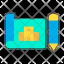 Hotel Plan Icon