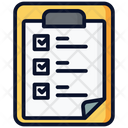 Plan List Checklist List Icon