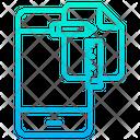 Phone Design Plan Designing Icon