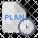 Plan Schedule Icon