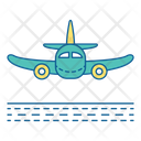 Arrival Plane Airport Icon