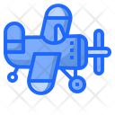 Plane Toy Kid Icon