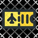 Plane Ticket Airplane Icon