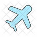 Plane Airplane Departures Icon