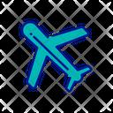 Plane Airplane Aircraft Icon