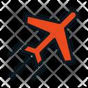 Plane Transportation Logistic Icon