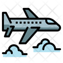 Plane Airplane Jet Icon