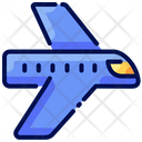 Plane Travel Buke Icon